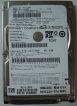 "MHZ2080BH 80GB 5400RPM SATA-300 2.5"" 9.5mm Laptop Hard Drive"