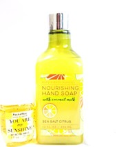 Bath and Body Works Sea Salt Citrus Nourishing Hand Soap, PocketBac White Holder - $17.90