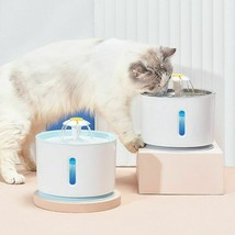 Pet Water Fountain Drinking Bowl Automatic Dispenser Quiet Drinker Acces... - $54.99+