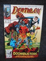 Marvel Comic Book Deathlok # 5 November 1991 - $1.58