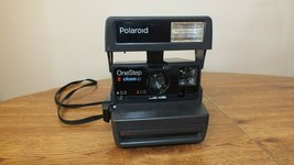 Vintage Polaroid One Step Close Up 600 Instant Film Camera with Strap Clean - $27.66