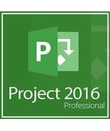 Microsoft Project 2016 Professional 32/64 Bit Key & Download - $9.00