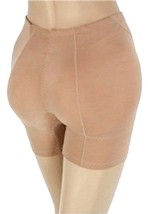 New Women's Fullness Butt Hip Padded Enhancer Shapewear Panty Beige #8019 image 2