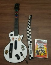 Nintendo Wii Guitar Hero Les Paul Guitar w/ World Tour game & strap - Te... - $56.09