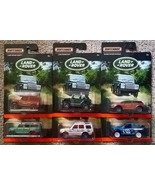 MATCHBOX Set of 6 LAND ROVER diecast toys NIB Defender Discovery Range E... - $15.00