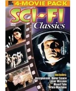 NEW Sci-Fi Classics 4 Movie Pack (DVD, 2005) Digitally Remastered!—Space... - $2.97