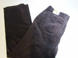 NWT Charter Club Woman Straight Leg Brown 5 Pocket Corduroy Sz 24W Org $... - $27.54