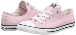 Women Converse Chuck Taylor Dainty Ox Low Top Sneaker, 549615C Size 5 Pink - $69.95