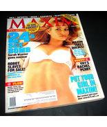 MAXIM Magazine 064 April 2003 VH1's Rachel Perry Robot Slaves 24's Sarah... - $10.99