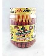 Flautirriko Tarugos Tamarindo Chile Mexican Tamarind Candy 50 Pcs 550g - $29.95