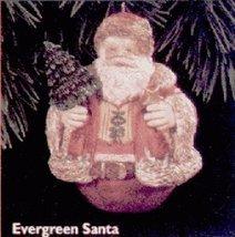 QX5714 Evergreen Santa Special Edition 1996 Hallmark Keepsake Ornament QX5714 - $8.62