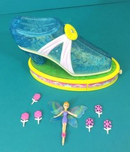 Blue Box Legend Of The Shoe Fairies Flower Playset Vintage Polly Pocket Style - $24.95