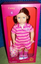 """Our Generation KIMMY 18"""" Girl Doll with School Bag New - $39.88"""
