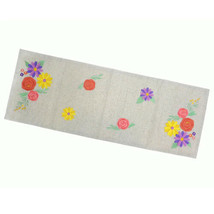 "Celebrate Spring Together Floral Applique Table Runner 13""x36"" NWT - $12.99"