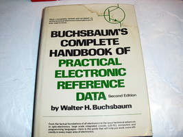 buchsbaums  complete of  practical electronic reference  data - $6.99