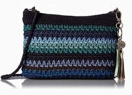 NWT The Sak Casual Classic 3 in 1 Crochet Crossbody Bag Atlantis Stripe ... - $62.75