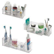 InterDesign Med+ - Makeup and Medicine Cabinet Organizer - Set of 3: Short Organ - $48.00