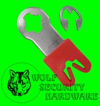 GM LH Driver Side Door Lock Pawl Metal Lever Cam Arm Plastic Rod Retainer Clip - $16.96