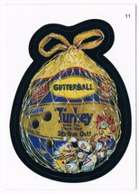 2005 Topps Wacky Packages Series 3 Gutterball Turkey Trading Card 11 ANS3 - $5.99