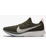 MEN'S NIKE ZOOM FLY FLYKNIT SHOES sequoia white AR4561 303 MSRP $160 - $67.87