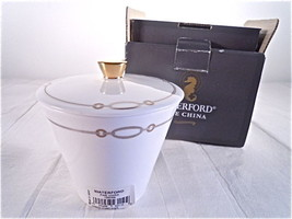 Waterford Dorado Covered Sugar Bowl New in Box - $24.25