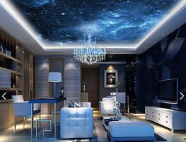 3D Blue Night Star 5 Wall Paper Murals Wall Print Decal Deco Aj Wallpaper Gb - $34.47+