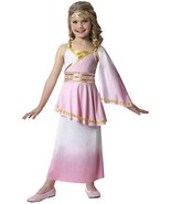 Girls Pink & Gold Venus Dress Halloween Costume S 4/6 - $35.99
