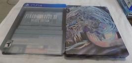 Final Fantasy XV Deluxe Edition CIB great shape kingsglaive PS4 playstation - $39.95