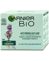 Garnier BIO Lavandin Anti-Wrinkle Day Cream Refresh Face Skin 50 ml - $21.77