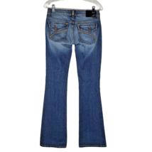 Fox Racing Bootcut Jeans Women's Medium Wash Blue Denim Size 1 - $26.72
