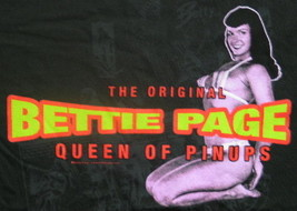 Bettie Page The Original Queen of Pinups Photo Image T-Shirt Size 2X NEW - $16.44