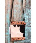 American Darling Black & White Cowhide Crossbody Bag Style #2 - $69.99