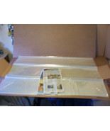 10 PC 60 x 40 LARGE MAP PRINT PORTRAIT CLEAR ACID FREE ARCHIVAL STORAGE ... - $102.46