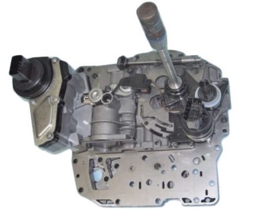 42RLE  Dodge Complete VALVE BODY WITH SOLENOID BLOCK-2 PLUG STYLE-LATE EPC
