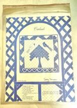 "Vintage Cardinals Quilt Pattern  Terry Thompson 30"" x 30"" - $14.40"