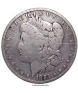 1884  Morgan Silver Dollar - $34.65