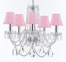 Murano Venetian Style Chandelier Crystal Lights Fixture Pendant Ceiling ... - $236.17