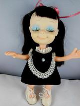 "Vintage Little Sophisticates Kristina Doll 8.5"" Uneeda Doll Co 1967 Japan - $26.72"