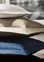 NIP SET of two Ralph Lauren Bedford Quilted European Euro Pillow Shams C... - $145.73