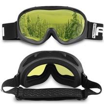 ALKAI Alta Ski Goggles, Snowboard Goggles  Anti-Fog, 100% UV Protection - $21.77