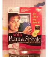 Point and Speak AOL Voice Recognition Software by Dragon - CD - $8.55