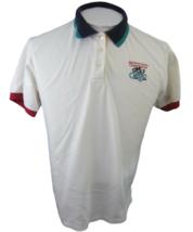 NICKLAUS vintage 1990s Women Polo Colorblock Walt Disney World Golf Clas... - $28.70