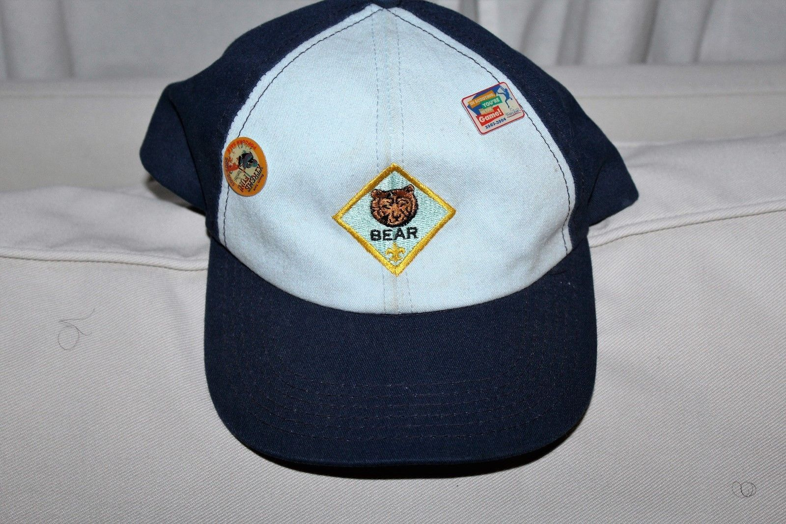 36889415a47 Boy Scout BSA Cub Scout Bear Ball Cap Hat and 36 similar items