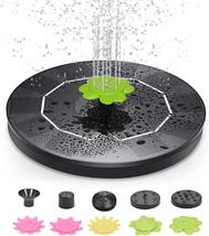 Solar Fountain Pump, 3W Solar Bird Bath Fountain with 9 Nozzle for Sinks... - $26.81
