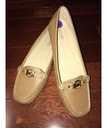 """NWOB Michael Kors Leather """" May"""" Loafers Brown Flats sz 8.5 - $89.99"""