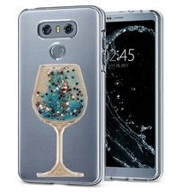 LG Tribute HD Case, LG X Style LS676 Case,Creative Handmade Wine Sandgla... - $10.88