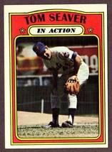 1972 Topps #446 Tom Seaver (Hof) In Action Baseball CARD- New York Mets - $9.85