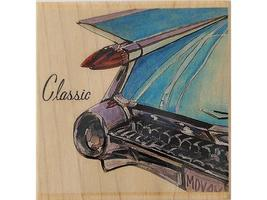 "Stamps Happen Inc ""Classic"" Wood Mounted Rubber Stamp #50075 - $6.99"