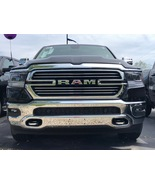 CHROME GRILL GRILLE TRIM MOLDING KIT FOR 2019 2020 2021 DODGE RAM 1500  - $39.99