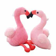 PANDA SUPERSTORE 3Pcs Flamingo Plush Stuffed Toy for Kids Festival Gift Bed Sofa